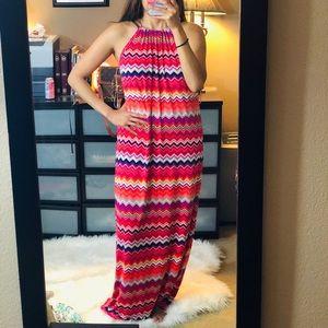 Trina Turk Maxi Dress SZ S